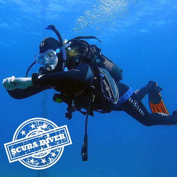 PADI Scuba certification course Lanzarote | Manta Diving Dive Centre Lanzarote