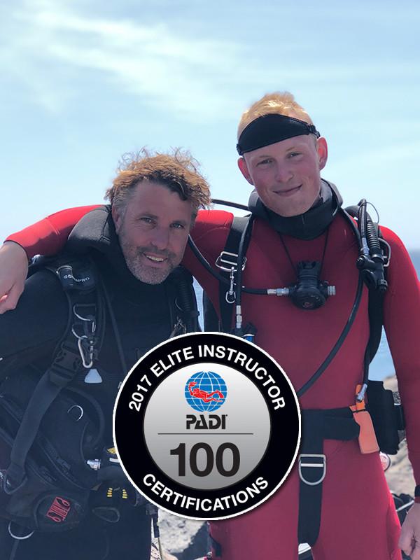 PADI Elite Instructors Lanzarote | Manta Diving Lanzarote