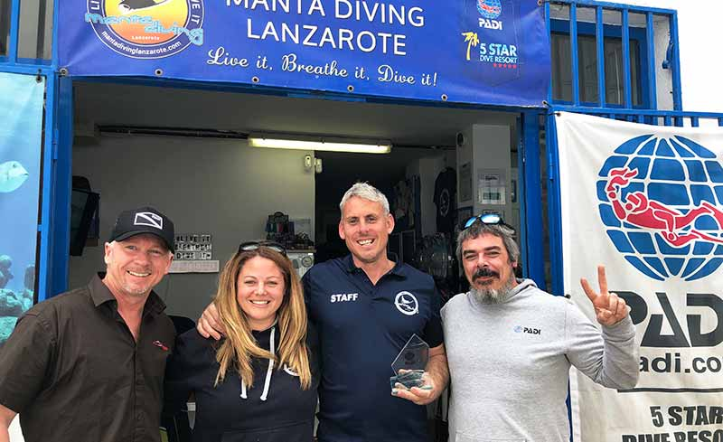 Diving Lanzarote | PADI Award winning 5* Dive Centre Puerto Del Carmen