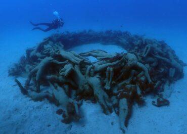 ¡El Museo Subacuático de Lanzarote está abierto al Buceo!