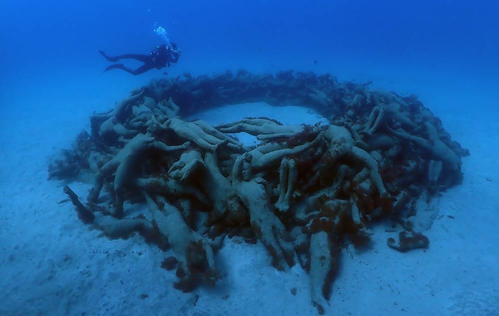 Underwater Museum Lanzarote | Dive Lanzarote in March