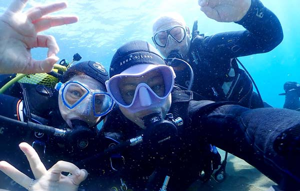 PADI Open Water Course Lanzarote | Learn to scuba dive | Manta Diving Lanzarote