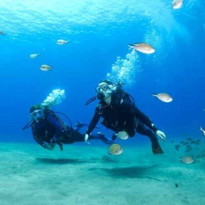Bautismo de buceo en Lanzarote - Puerto Del Carmen - Prueba bucear por la primera vez