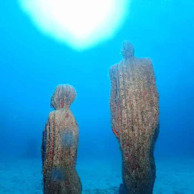Buceo en el museo subacuatico Lanzarote - Museo Atlantico mobile
