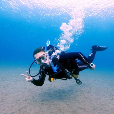 PADI Advanced open water curso en Lanzarote